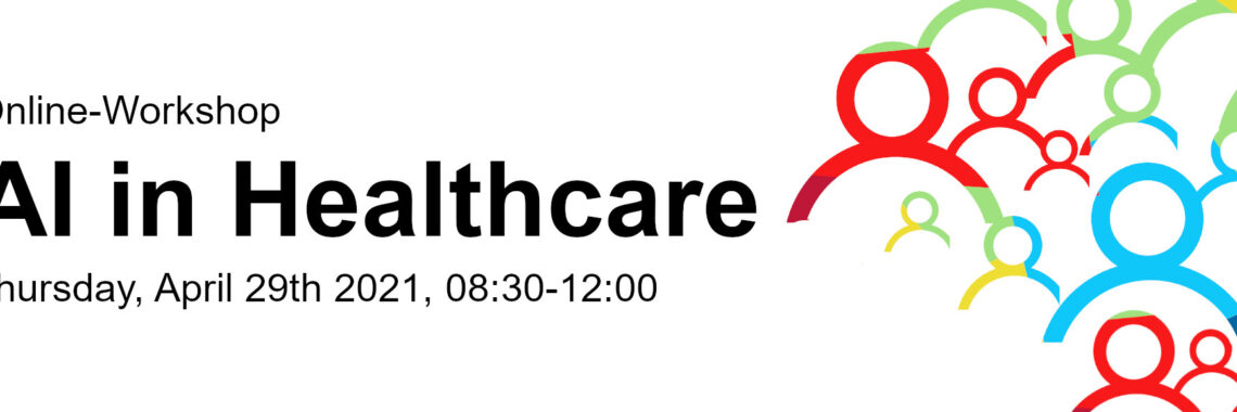 Online-Workshop: AI in Healthcare -Flyer