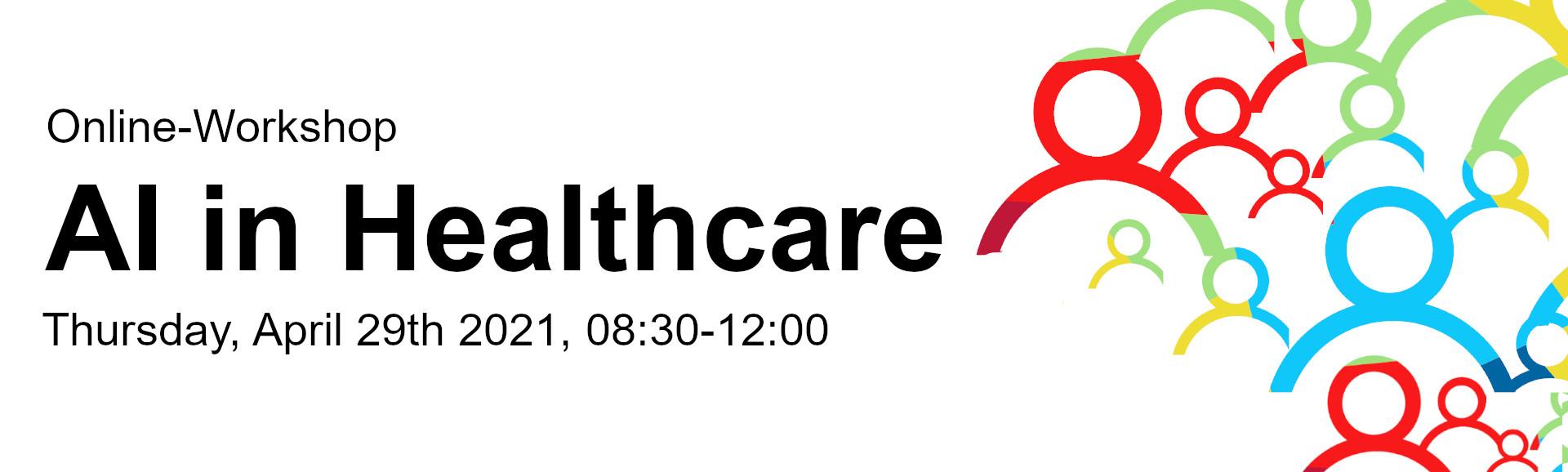 Online-Workshop: AI in Healthcare -Flyer